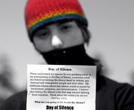 Nationwide 'Day of Silence' calls attention to bullying, harassment of LGBT students