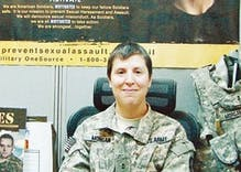 National Guard reverses ruling and will allow lesbian, spouse to attend event