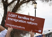 LGBT advocacy groups applaud Obama's gay-inclusive immigration plan