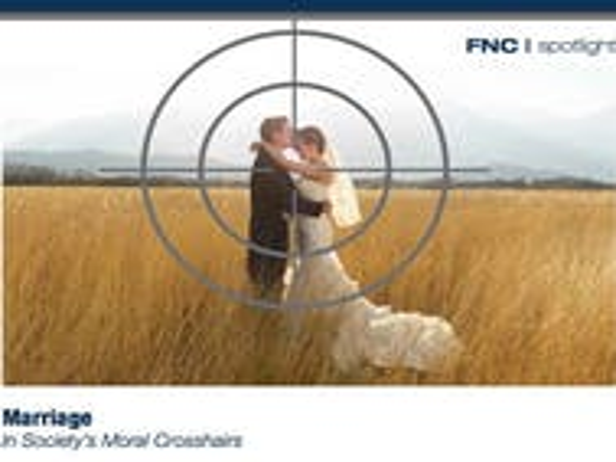North Carolina group uses 'sniper crosshair' image to bash gay marriage