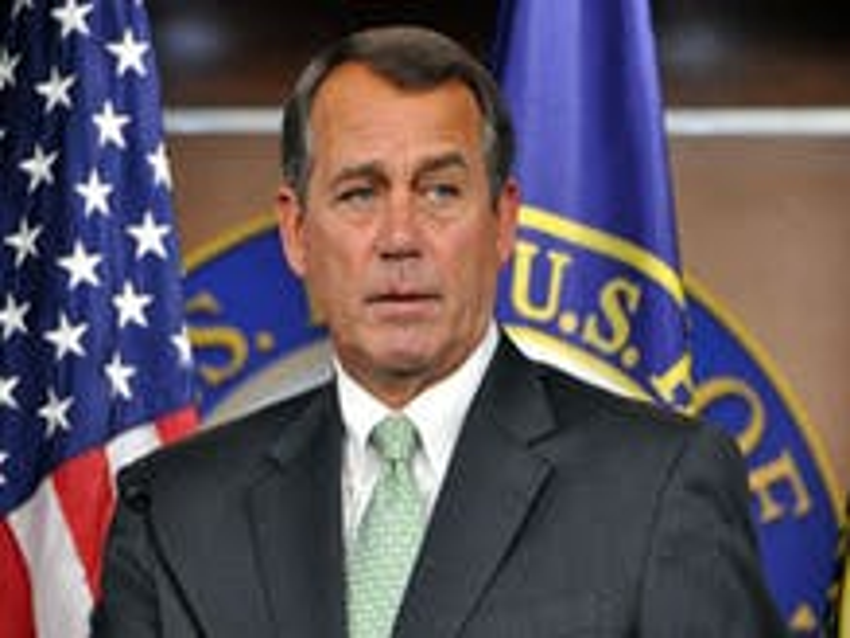 Boehner may intervene soon against gay troops' DOMA lawsuit