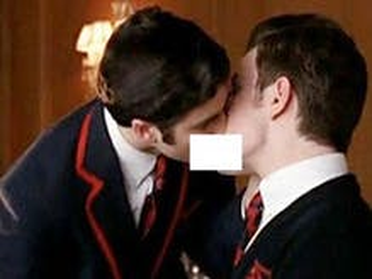LaBarbera censors 'Glee' kiss, posts inflammatory article deriding gay 'pigs'