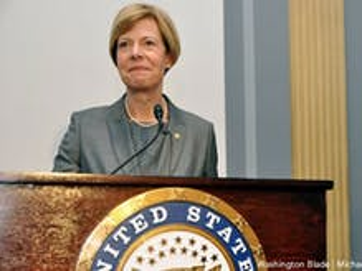 Tammy Baldwin sworn in as first openly gay U.S. Senator