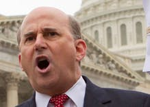 Congressman Louie Gohmert opposes gun control because gay marriage leads to bestiality
