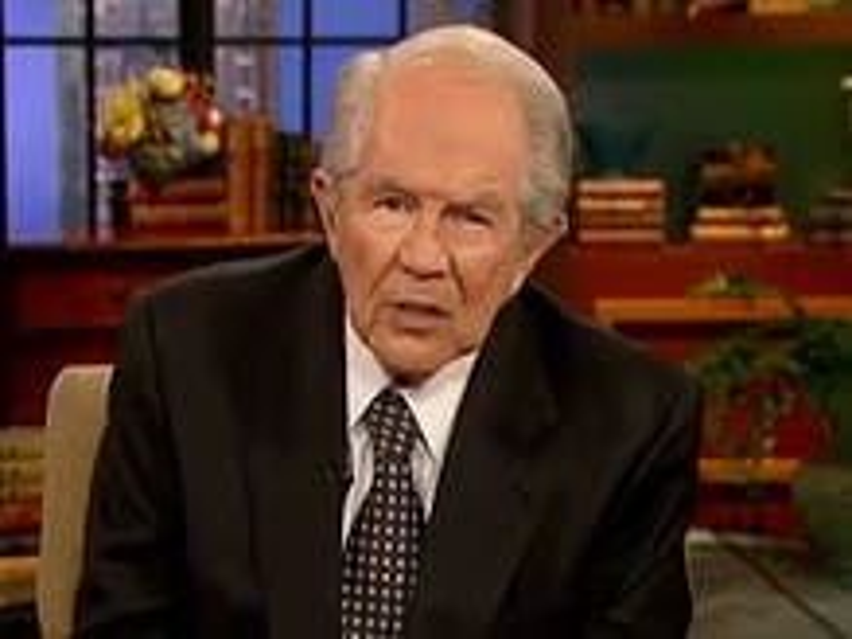 Pat Robertson's surprising response on the topic of transgender people
