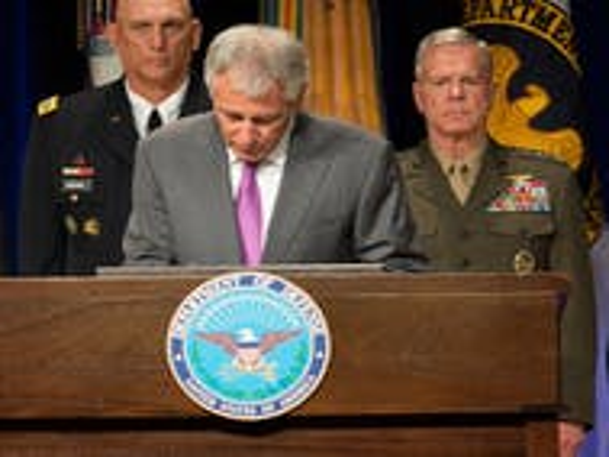 Pentagon releases 'human goals' charter that excludes transgender civilian workers