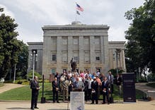 N.C. pastors call on governor to defend state's same-sex marriage ban