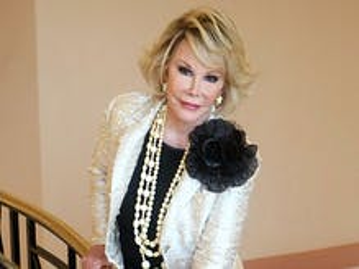 Longtime LGBT ally Joan Rivers dies