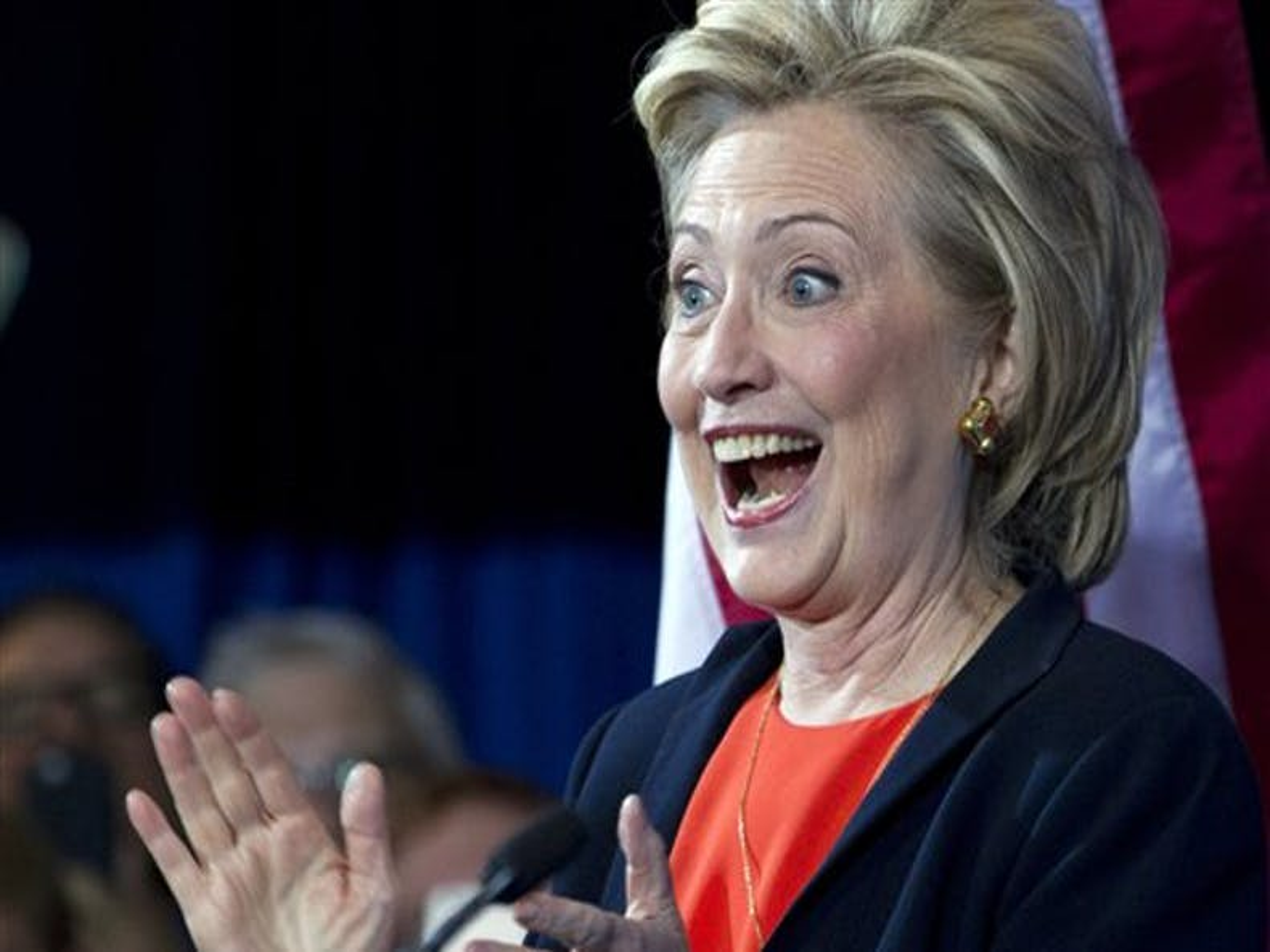 Hillary Clinton promotes gay rights as central pillar of her 2016 bid