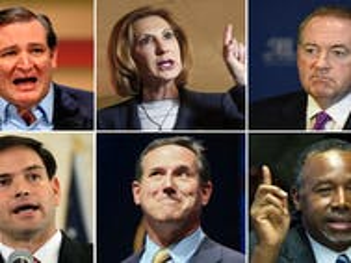 GOP hopefuls pledge to enshrine anti-gay discrimination into federal law